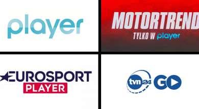 Przegląd mobilnych aplikacji VOD: player, MotorTrend, Eurosport Player, TVN24 GO
