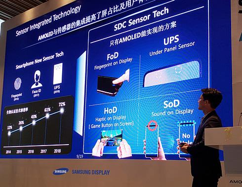 Samsung: aparat pod wyświetlaczem smartfona już w przyszłym roku