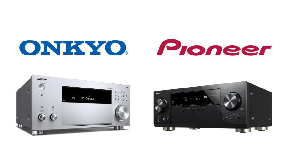 Amplitunery Onkyo i Pionner z zarządzaniem dźwiękiem z poziomu aplikacji Sonos