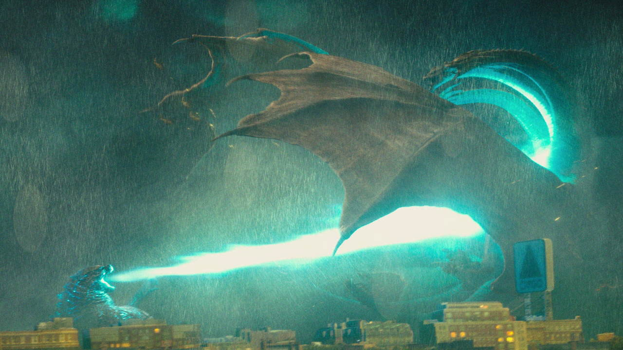 Godzilla 2 król potworów bluray