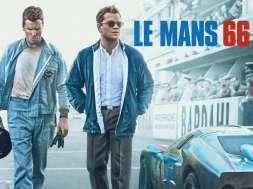 Le Mans 66 recenzja matt damon christian bale film roku hdtvpolska grafika tytułowa