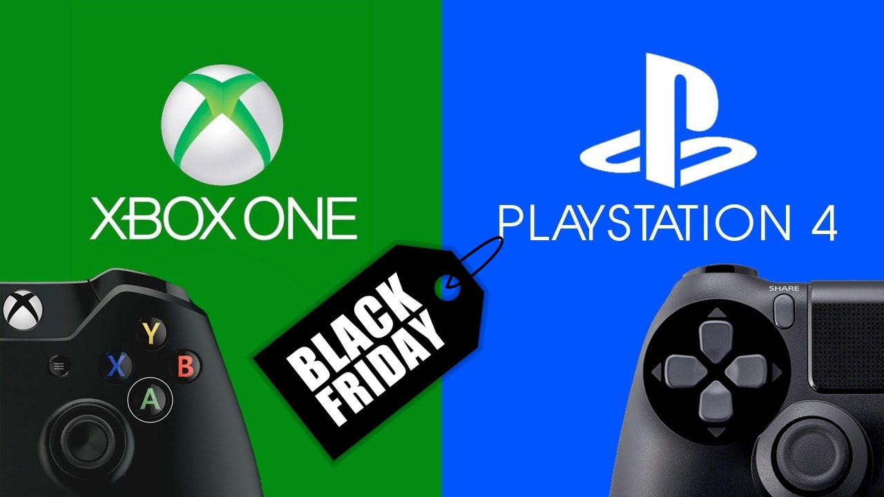 Black Friday – najlepsze promocje na zakup PS4 i Xbox One (godzina 17.50)