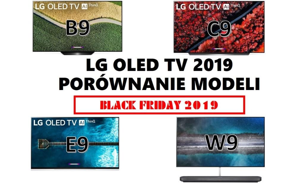Jaki wybrać LG OLED na Black Friday 2019? Porównanie modeli i cen