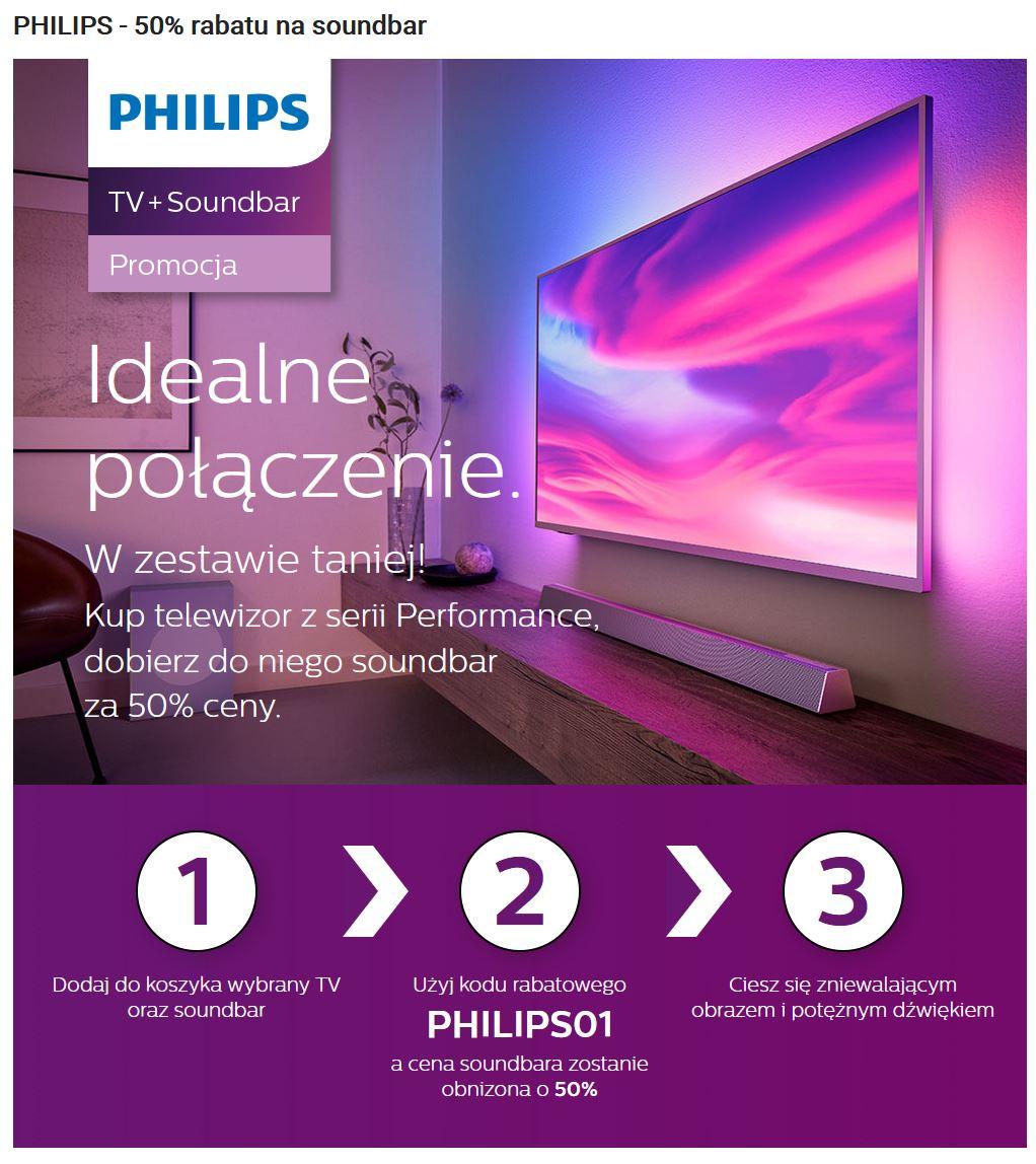 Promocja Philips soundbar media expert 2