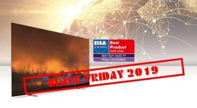Promocja euro rtv agd Philips OLED804 black friday 2019