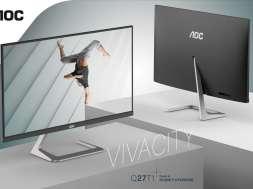 AOC Q27T1: nowy monitor QHD z dobrymi kolorami i szerokimi kątami widzenia