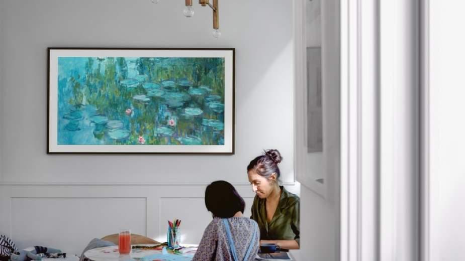 Telewizor Samsung The Frame QLED szerzej dostępny i ma więcej dzieł sztuki