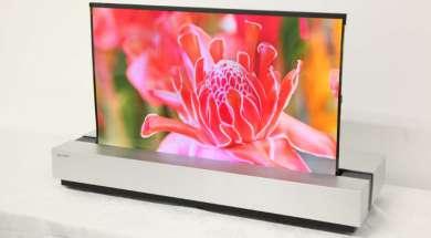 Sharp rolowany OLED 4K 11