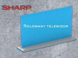 Sharp rolowany telewizor 3