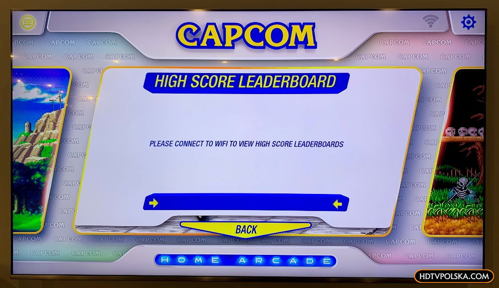 Recenzja test Capcom home arcade 16