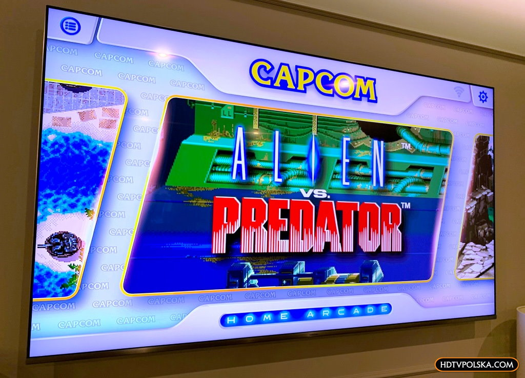 Recenzja test Capcom home arcade 7