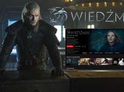 Wiedźmin Netflix na oled tv recenzja