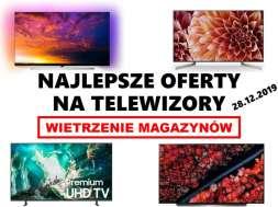 Wietrzenie magazynów 2019 przegląd telewizorów ofert oled lcd qled