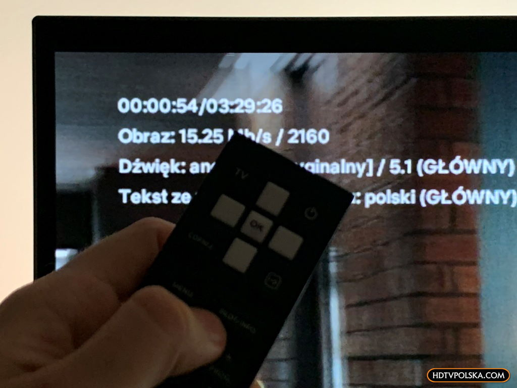 test aplikacji netflix na canalplus dekoder 4K canal+ 8