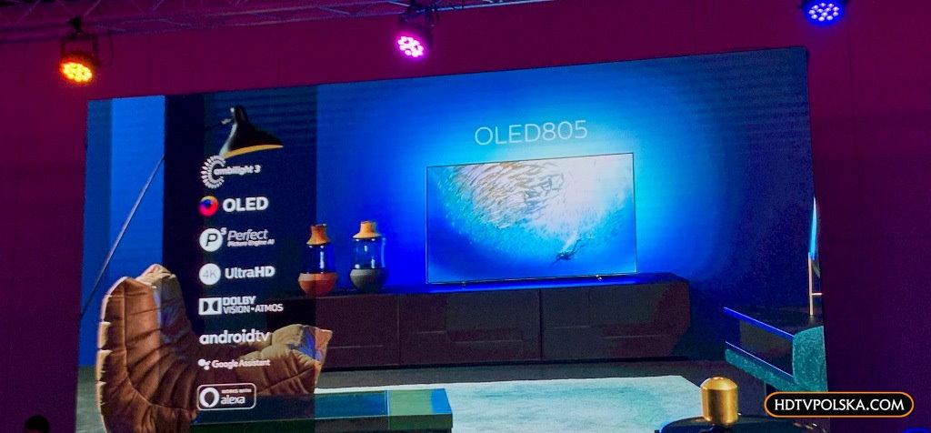 Premiera OLED805 Philips na 2020 rok 2