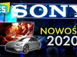Sony na CES2020 wideo nowe telewizory