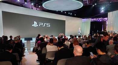 Sony ps5 konsola logo oficjalne ces2020