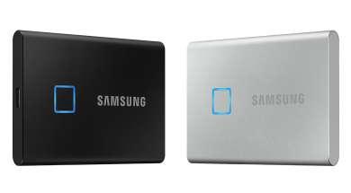 Samsung T7 Touch: nowy super szybki dysk SSD z czytnikiem linii papilarnych