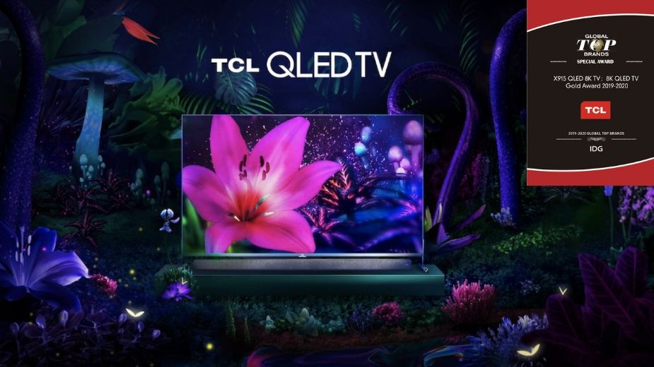 Telewizor TCL X91 8K QLED zdobył nagrodę Gold Award na CES2020