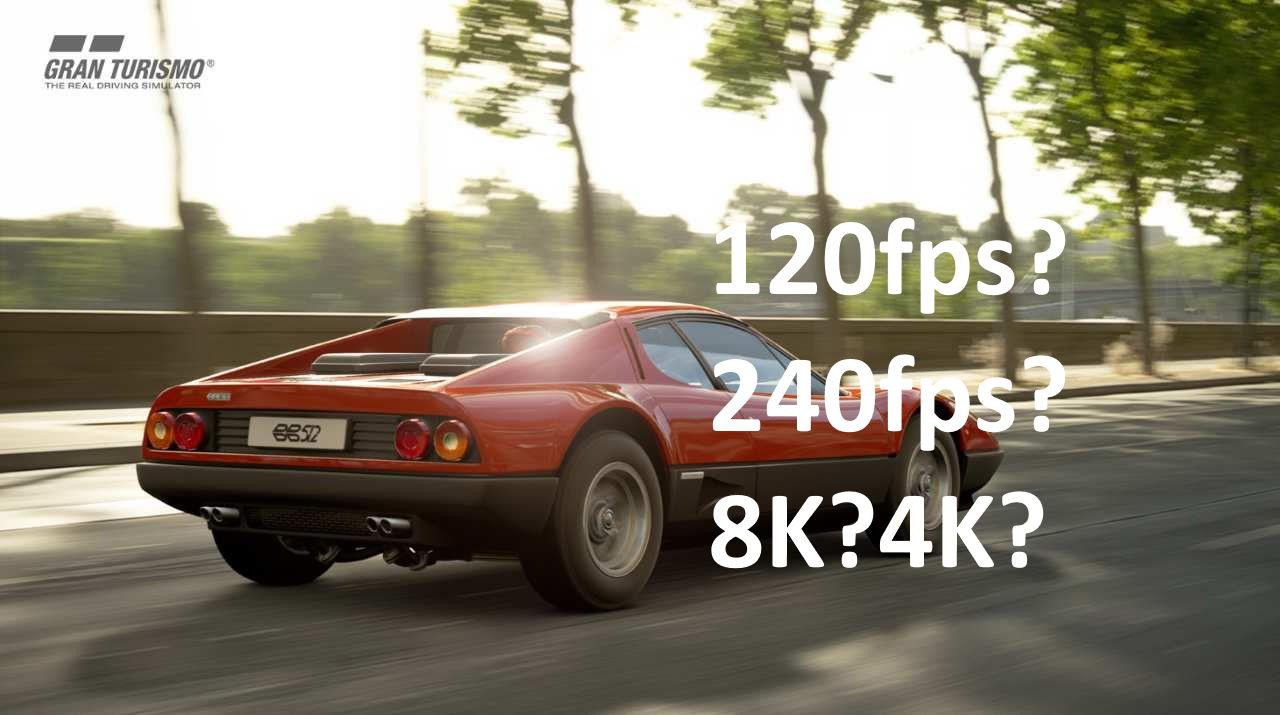 Na jakich telewizorach na PS5 zagramy w 120 lub nawet 240 klatkach w Gran Turismo?
