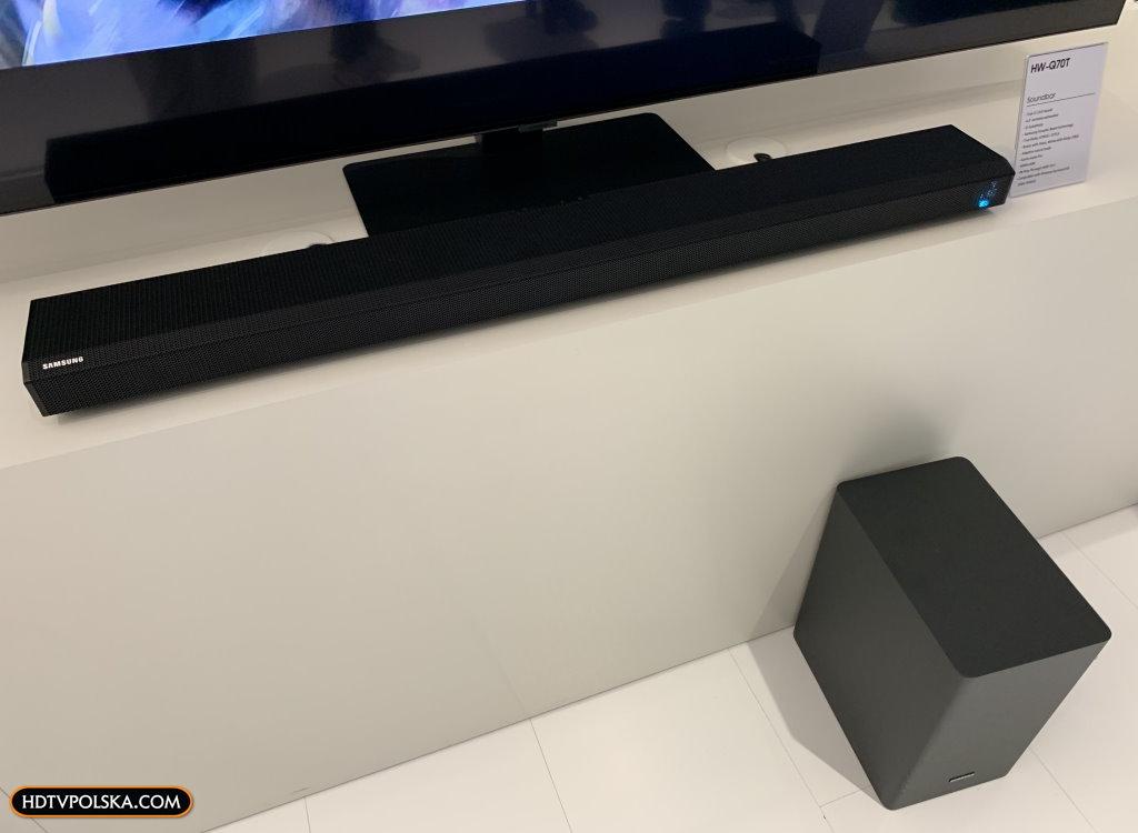 Samsung forum 2020 nowe soundbary HW-Q70T