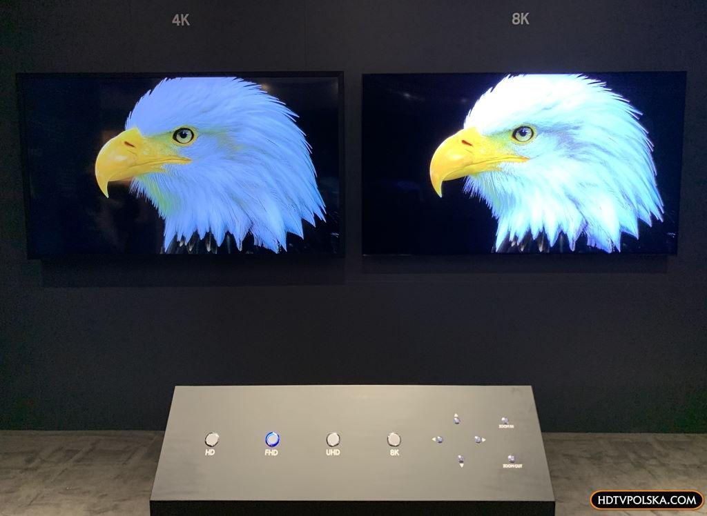 Skalowanie AI do 8K Samsung forum 2020