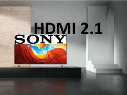 Sony HDMI 2.1 telewizor 2020 lista