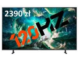 Telewizor 120Hz Samsung RU8002 w mega promocji