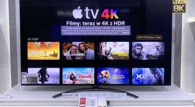Test aplikacja apple tv telewizor lg oled nanocell 11