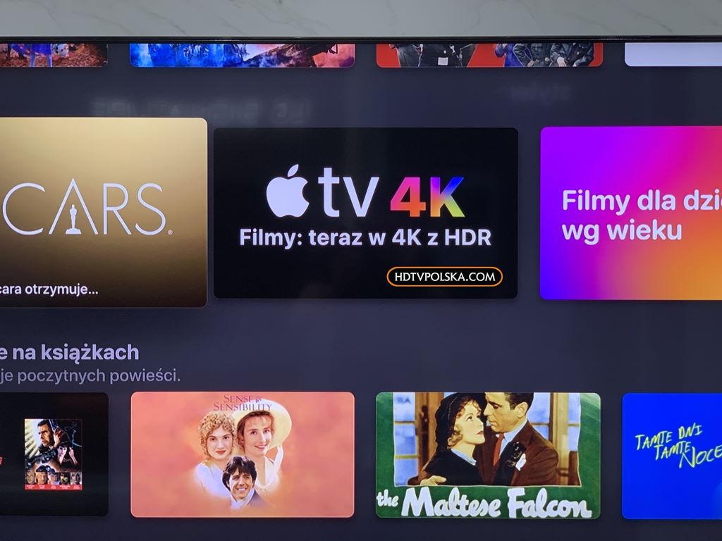 Test aplikacja apple tv telewizor lg oled nanocell 15