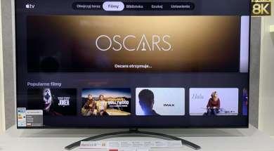 Test aplikacja apple tv telewizor lg oled nanocell 5
