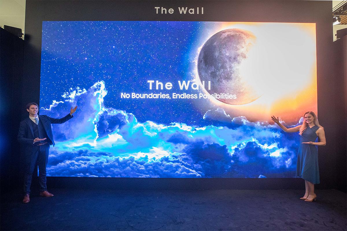 ISE 2020: Samsung prezentuje potężny, 583-calowy ekran The Wall 8K!