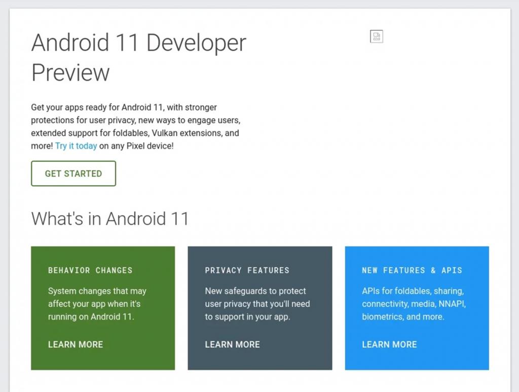 Android 11: Google przypadkiem udostępniło stronę dla deweloperów. Co nowego w kolejnej wersji?