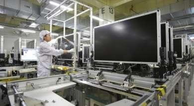 LCD panele fabryka telewizory Chiny