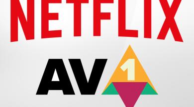 Netflix kodek AV1 8K