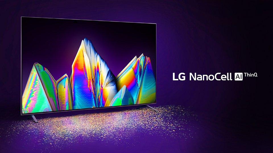 LCD LG NanoCell telewizory 2020 rok