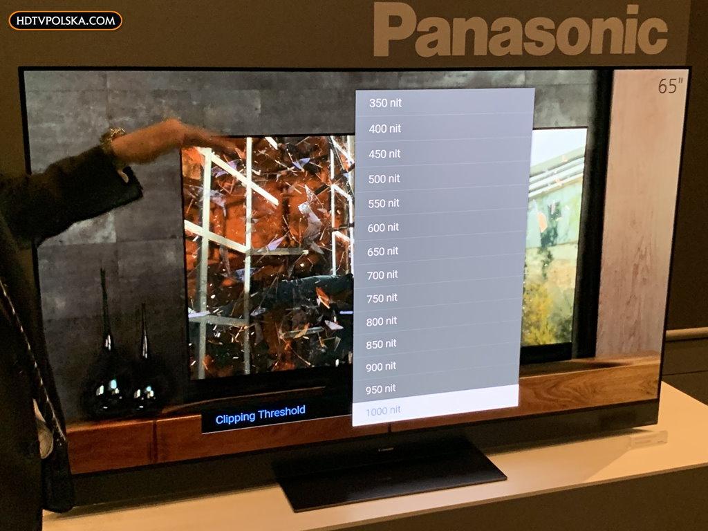 Nowe telewizory Panasonic OLED LCD 2020 rok kalibracja 4