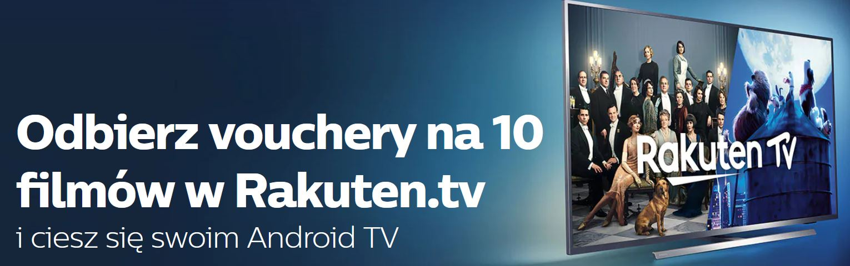 Promocja Philips OLED Rakuten.tv 10 darmowych filmów Media Expert