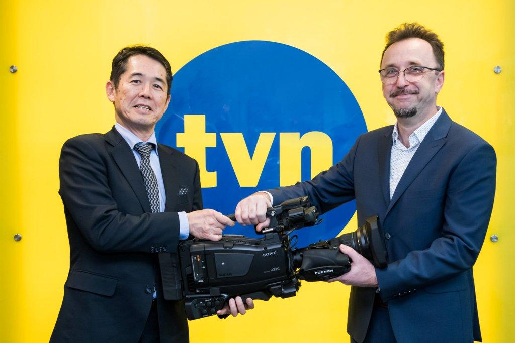 TVN24 pierwszy na świecie wdraża kamery Sony PXW-Z750 z 4K HDR