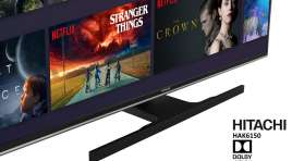 Telewizor Hitachi HAK6150 | TEST | Niedrogi do grania i Netflix z Android TV i Dolby Vision