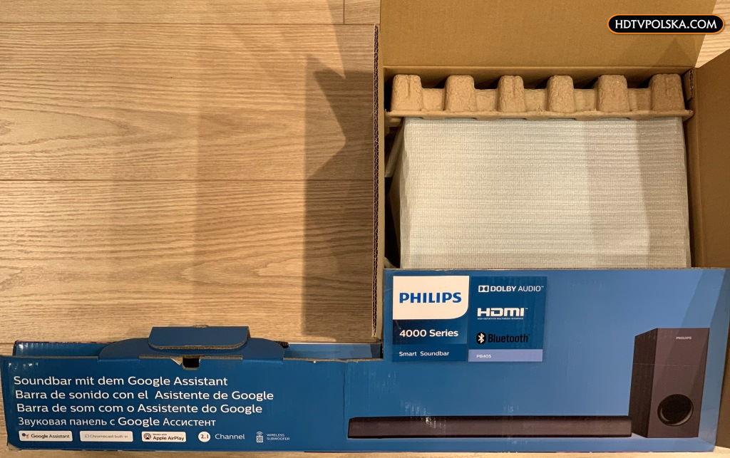 Philips TAPB405 test soundbar 9