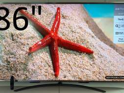Promocja 86 cali LG UM7600 w Media Expert
