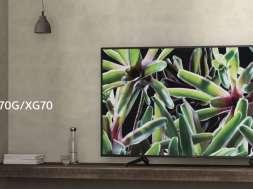Telewizor sony XG70 test
