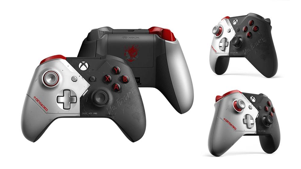 """Microsoft wyda Xbox One X w limitowanej edycji """"Cyberpunk 2077"""". Design zachwyca!"""