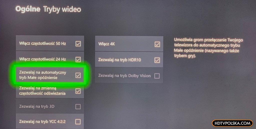promocja samsung qled q80r do grania konsola xbox one s w zestawie ALLM