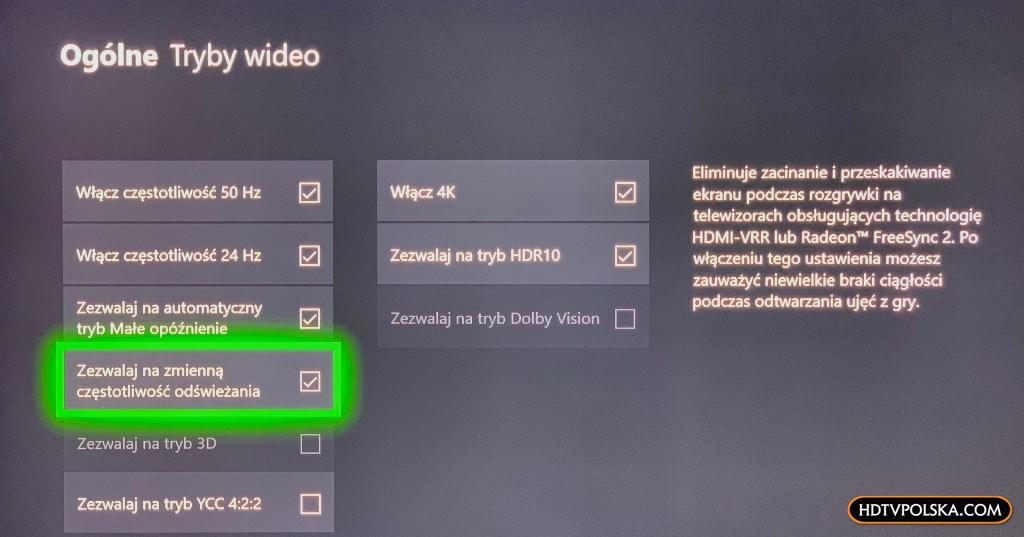 promocja samsung qled q80r do grania konsola xbox one s w zestawie VRR