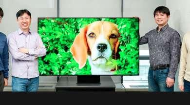 Samsung 8K QLED TV 2020 upscalling