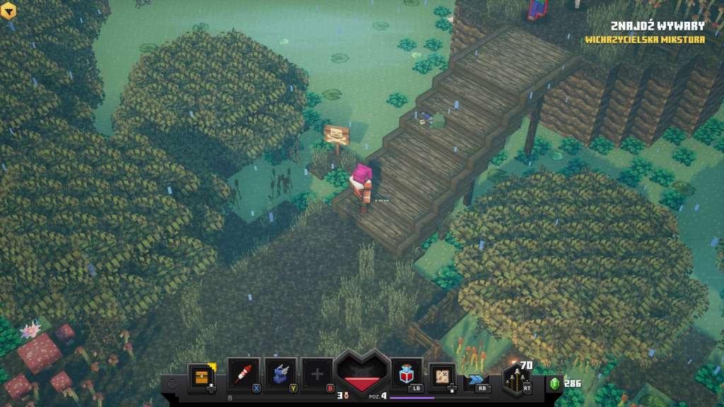 minecraft dungeons recenzja