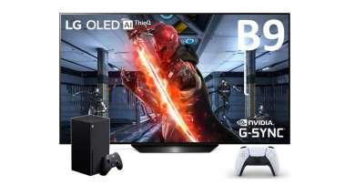 LG OLED B9 do Xbox Series X PlayStaton 5 test 5