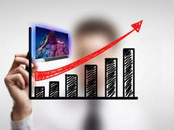 Sprzedaż telewizorów wzrost